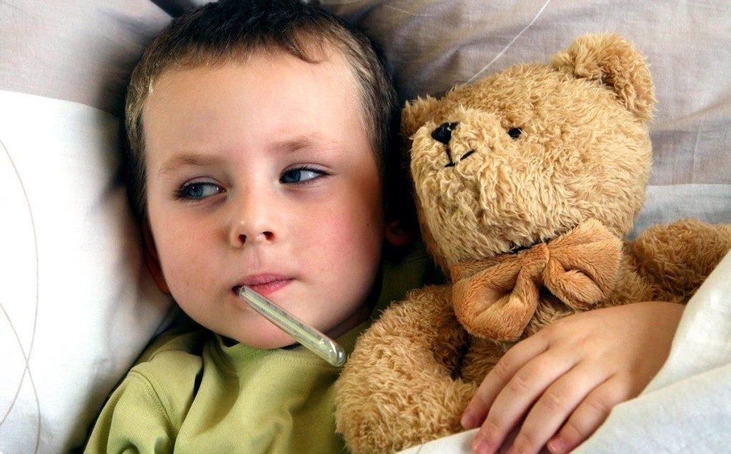 почему у ребенка не сбивается высокая температура